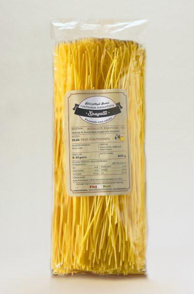 Fürjtojásos Spagetti